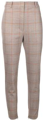 Zimmermann checkered high waisted trousers