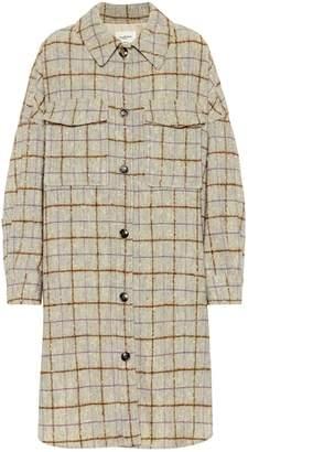 Etoile Isabel Marant Isabel Marant, Étoile Oario checked wool coat