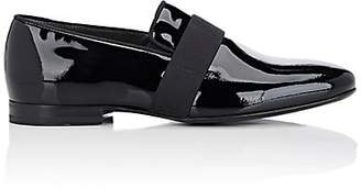 Lanvin Men's Patent Leather Venetian Loafers - Black
