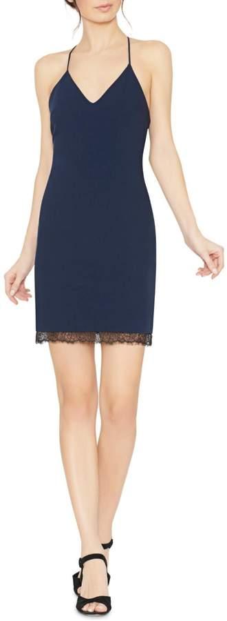 Alice + Olivia Navy Sleeveless Sheath Dress