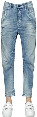 Fayza Cotton Denim Effect Joggjeans $289 thestylecure.com