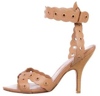 Isa Tapia Leather Multistrap Sandals