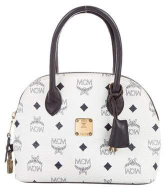 MCM Small Visetos Dome Bag