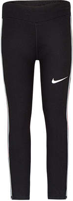 Nike Toddler Girls Dri-fit Mesh-Panel Leggings
