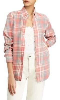 Polo Ralph Lauren Classic-Fit Cotton Plaid Shirt