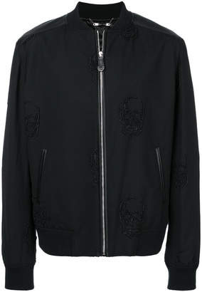 Philipp Plein Setting bomber jacket