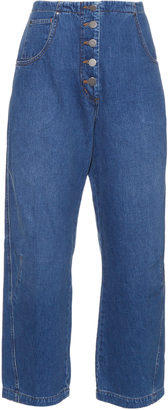 RACHEL COMEY Elkin high-waisted cropped jeans $380 thestylecure.com