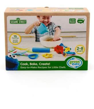 Green Toys x Sesame Street(R) Cook, Bake, Create Easy to Make Recipes for Little Chefs Set