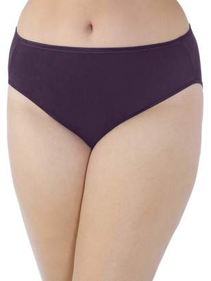 Vanity Fair Women's Plus Size Illumination Hi Cut Panty