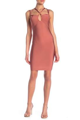 Wow Couture Keyhole Front Bandage Dress