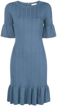 MICHAEL Michael Kors fitted shortsleeved dress