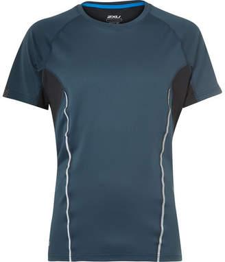 2XU Thermal Active Panelled Mesh Running T-Shirt