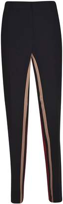 N°21 N.21 Inner Stripe Cropped Trousers
