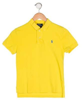 Polo Ralph Lauren Boys' Knit Collared Shirt