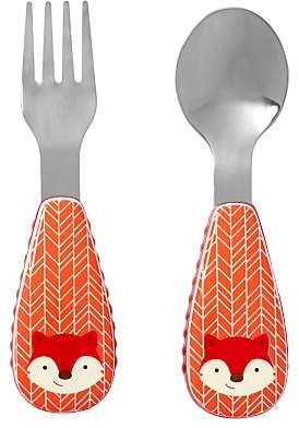 Skip Hop Baby Fox Fork and Spoon Zootensils