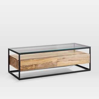 west elm Box Frame Storage Coffee Table