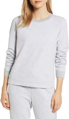 Lou & Grey Sparkle Detail Cotton Sweatshirt