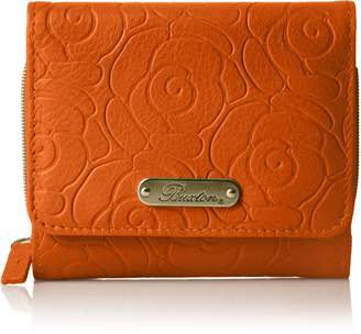 Mulberry Buxton Women's Rose Garden Accordion Zip French Purse,