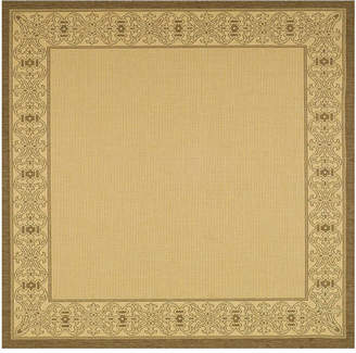 Asstd National Brand Courtyard Tribal Indoor/Outdoor Square Rugs