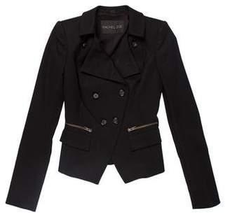 Rachel Zoe Double-Breasted Long Sleeve Jacket