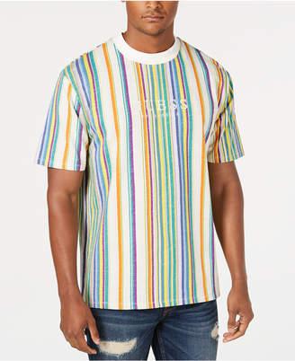 GUESS Originals Men's Riviera Striped T-Shirt