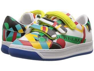 Burberry Groves Sneaker (Toddler/Little Kid)