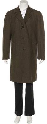 Canali Cashmere & Wool Overcoat