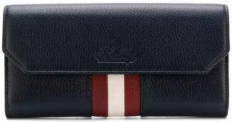 Bally front striped purse