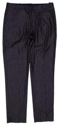 Emporio Armani Mid-Rise Straight-Leg Jeans w/ Tags