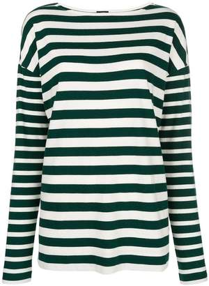 Joseph multi-stripe longsleeved T-shirt