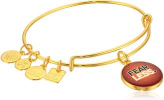 Alex and Ani Women's Charity By Design Fearless Bangle Gold-Tone