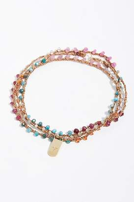 Feathered Soul 14k Third Eye Diamond Pendant Necklace