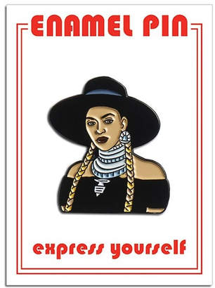 Beyonce The Found Enamel Pin