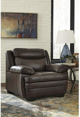 Signature Design by Ashley Hannalore Leather Accent Chair