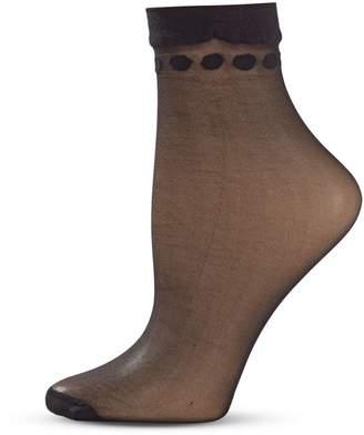 Dim Plumetis Dot Ankle Socks