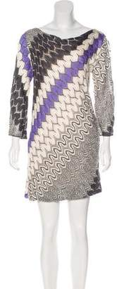 Missoni Knit Mini Dress