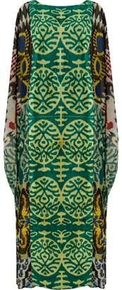 Afroditi Hera Ikat カフタンドレス