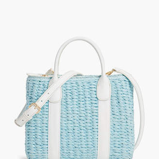 Talbots Corded Paper Straw Bag