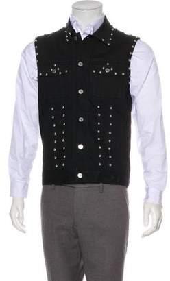 Givenchy Studded Denim Vest