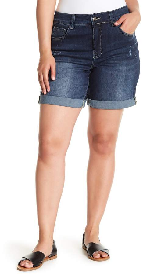 Denim Shorts (Plus Size)