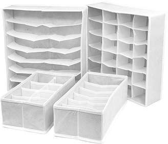 SORBUS Sorbus Set of 4 Foldable Drawer Dividers Storage Boxes & Organizer