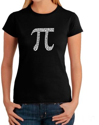 Women's Word Art Pi T-Shirt in Black $19.99 thestylecure.com