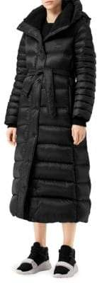 Burberry Kingston Belted Down Coat