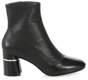 3.1 Phillip Lim Drum Block Heel Leather Booties