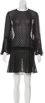 Veronica Beard Silk Flared Dress