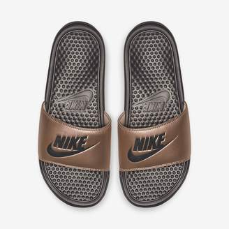 06f84beec Nike Gray Women s Sandals - ShopStyle