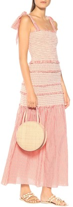 LoveShackFancy Robyn cotton maxi dress