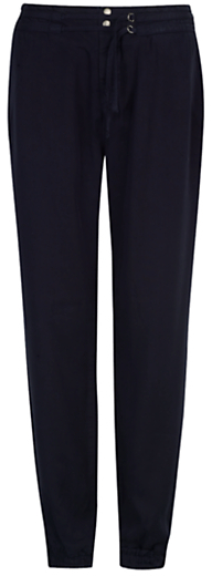 kew.159 Soft Cuff Trousers, Navy