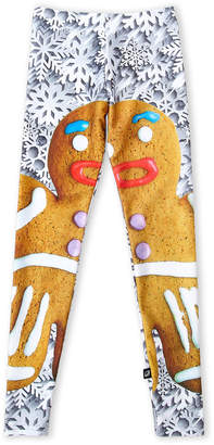 Terez (Girls 7-16) Gingerbread Graphic Leggings