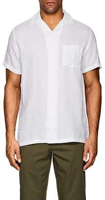 Onia Men's Vacation Linen Short-Sleeve Shirt